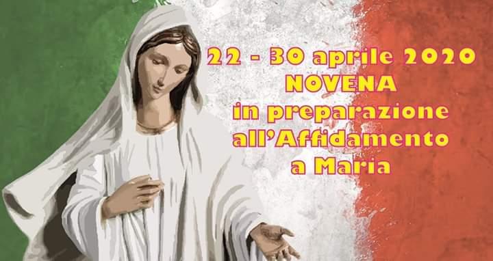 6° giorno della Novena breve in preparazione all'Atto di Affidamento a Maria