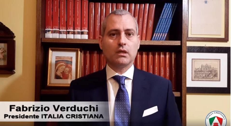 """Coronavirus, Fabrizio Verduchi (Italia Cristiana): """"approccio da regime totalitario"""""""