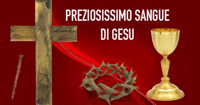 Luglio, preghiere al Preziosissimo Sangue di Gesù Cristo (Dodicesimo giorno)