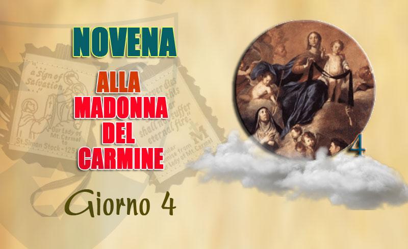 Quarto giorno della novena alla Madonna del Carmelo (10 luglio)