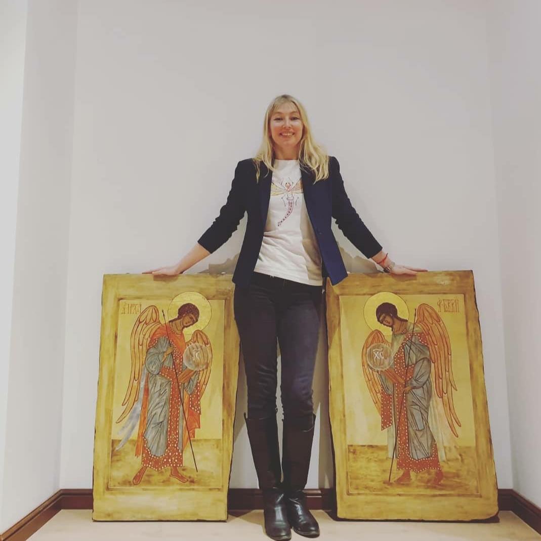 Elena Chugunova e quelle icone che rappresentano tutta la devozione del popolo russo