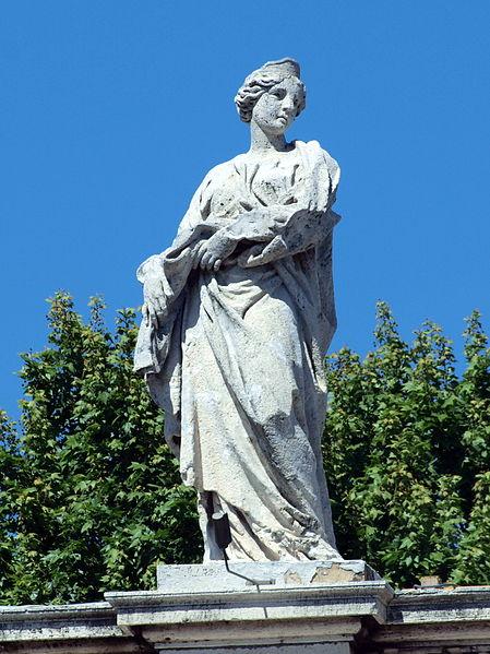 La piccola santa Balbina, figlia del tribuno Quirino, carceriere di Papa Alessandro I