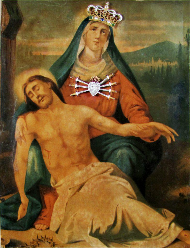 I miracoli della Madonna di Campocavallo (e gli occhi dell'Addolorata che si muovono)